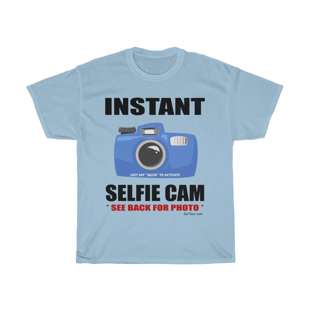 Instant Selfie Cam – Cow – Two Sided T-Shirt