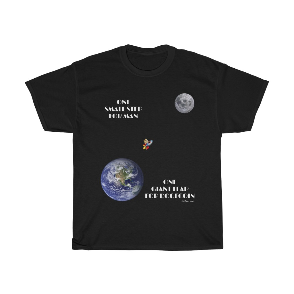 One Giant Leap For Dogecoin T-Shirt